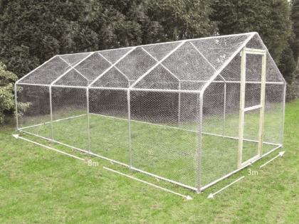 Chicken Run 3m x 8m (10ft x 26ft)