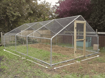 Chicken Run 4m x 6m (13ft x 20ft)
