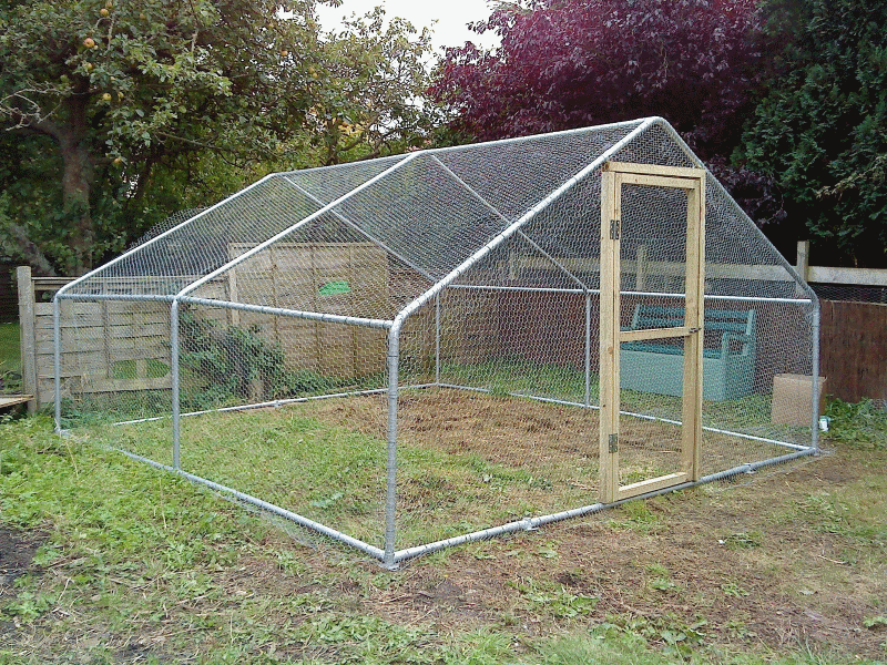 steel mesh chicken run about garden life