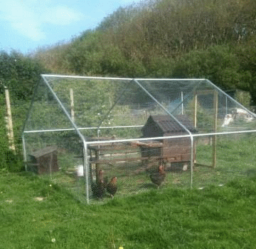 gardenlife chicken run gallery steel mesh