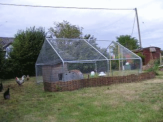 gardenlife chicken run gallery uk