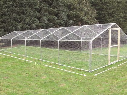 Chicken Runs 6m x 10m (20ft x 32ft)
