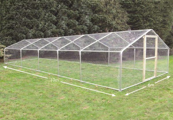 6m x 10m chicken coop